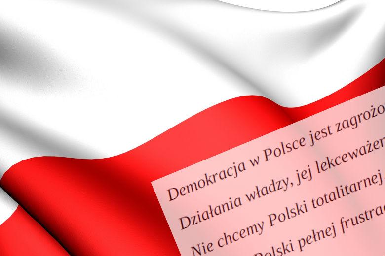 W obronie demokracji w Polsce. By znów o nią nie walczyć.