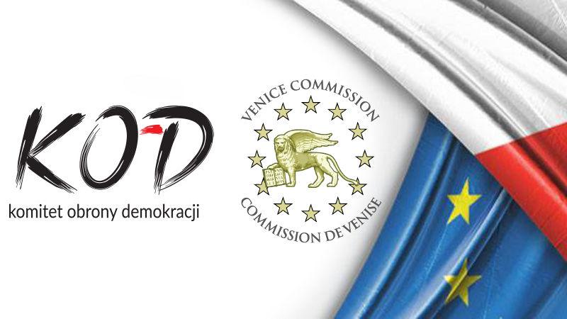 KOD do Komisji Weneckiej