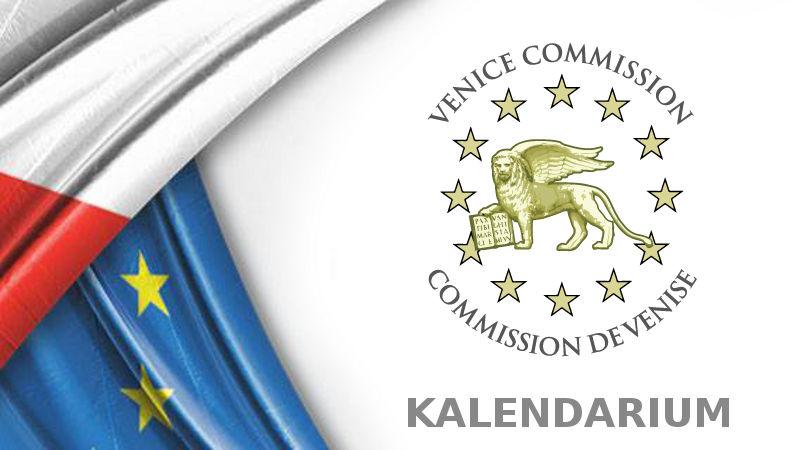 Komisja Wenecka a sprawa polska - kalendarium