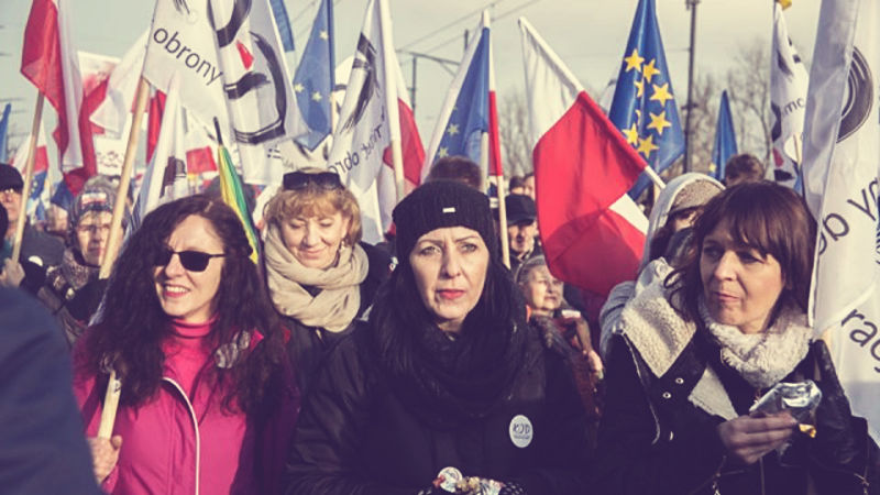 Refleksje z placu Solidarności