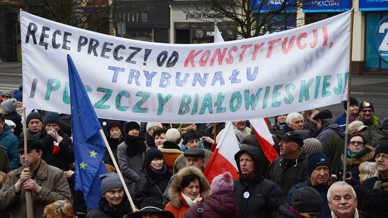 Poznań broni ładu konstytucyjnego 12.03.2016