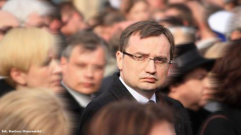 Minister Ziobro bez osłonek