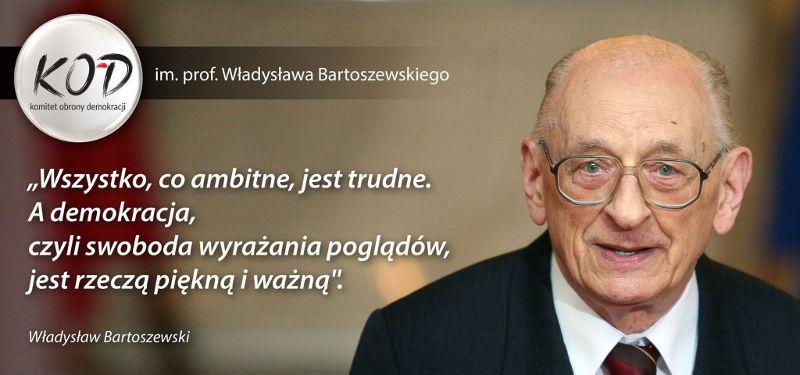 KOD im. prof. Władysława Bartoszewskiego