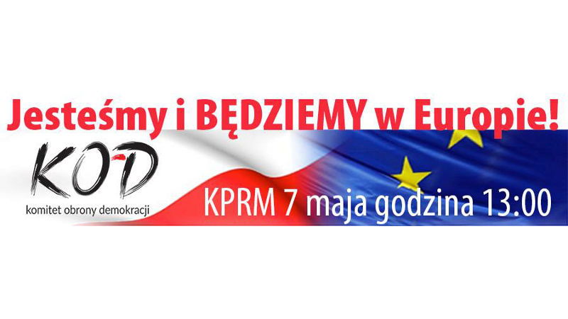 """""""Jesteśmy i będziemy w Europie"""" wielki marsz KOD-u i opozycji"""